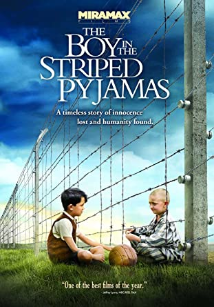 Title page for the film the boy in the striped pyjamas