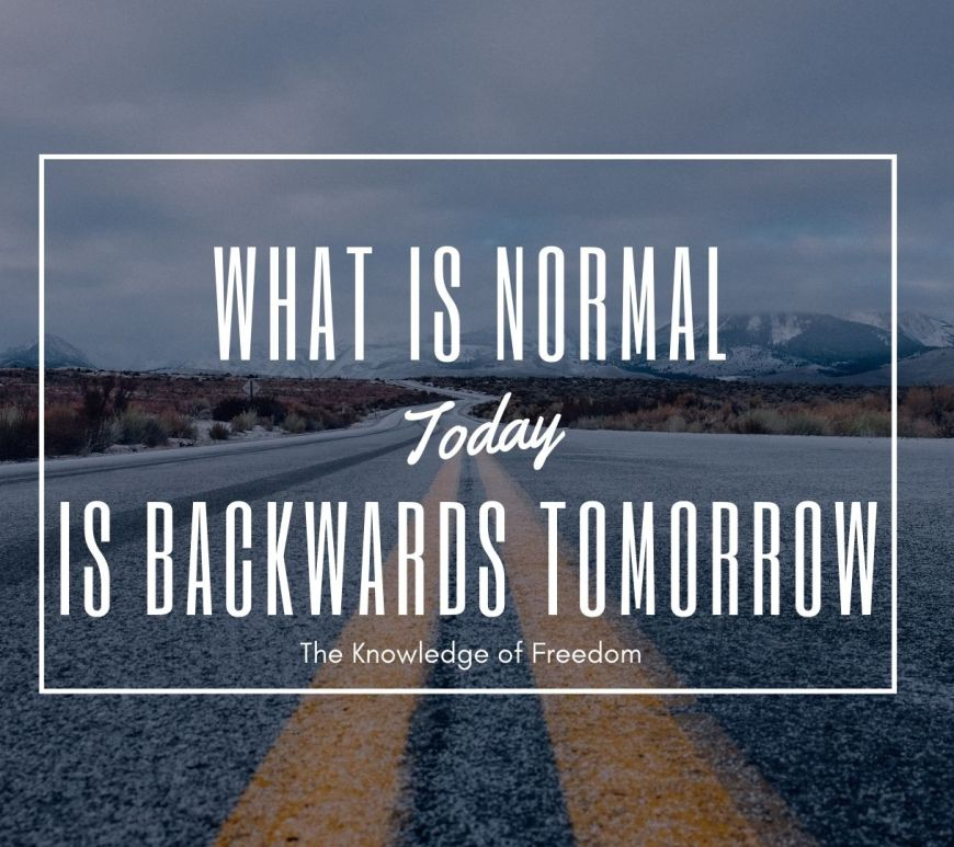 Title image for post entitled why is what is normal constantly changing